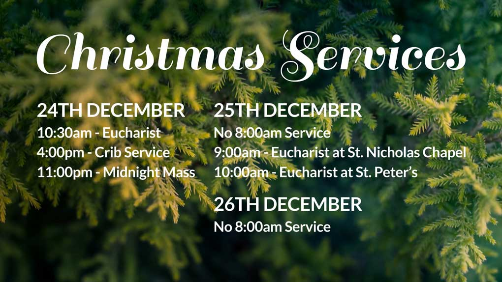 Christmas Services